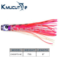 Resin Head Octopus bionic bait CHSOFT5 Chentilly trolling lures marlin lures Wahoo lures