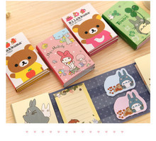 Designer OEM eco sticky note pads pet index