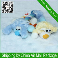 The Plush Cartoon Cotton Animal Shapes Color is Shipping in Random Dog Toys Pet Toys T006