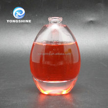 50ml round perfume glass bottle with lid wholesale
