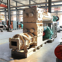 Factory price solid hollow clay vacuum extruder kampala sea port brick maker