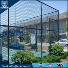 Decorative Powder Coated Versatile Chain Link Perimeter Fence for Municipal Playgrounds