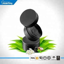 food grade black activated bamboo charcoal teeth whitening powder with bright up brands
