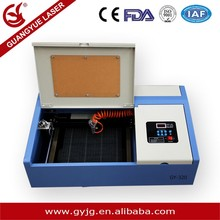 laser 40w GY-320 Laser engraving Machine, MINI laser engraving cutting machine