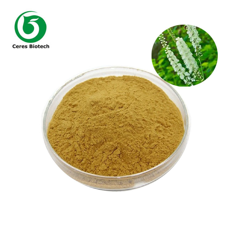 Best Price! Factory Supply Black Cohosh Extract Powder Triterpene Glycosides