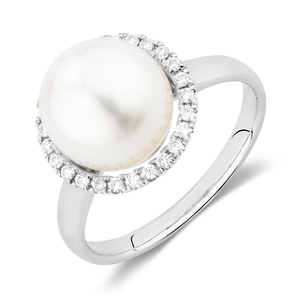 Sterling silver fresh water pearl ring jewelry vendors