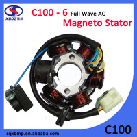 C100 - 6 Full Wave AC Motorcycle Magneto Stator Coil