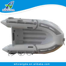 8ft 2.4m aluminum floor inflatable boat for fishing
