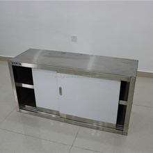 Wholesale commercial kitchen equipment custom stainless steel wall cupboard