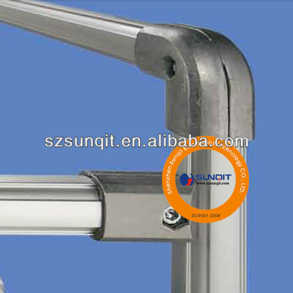 Qualified aluminum tube for workbench