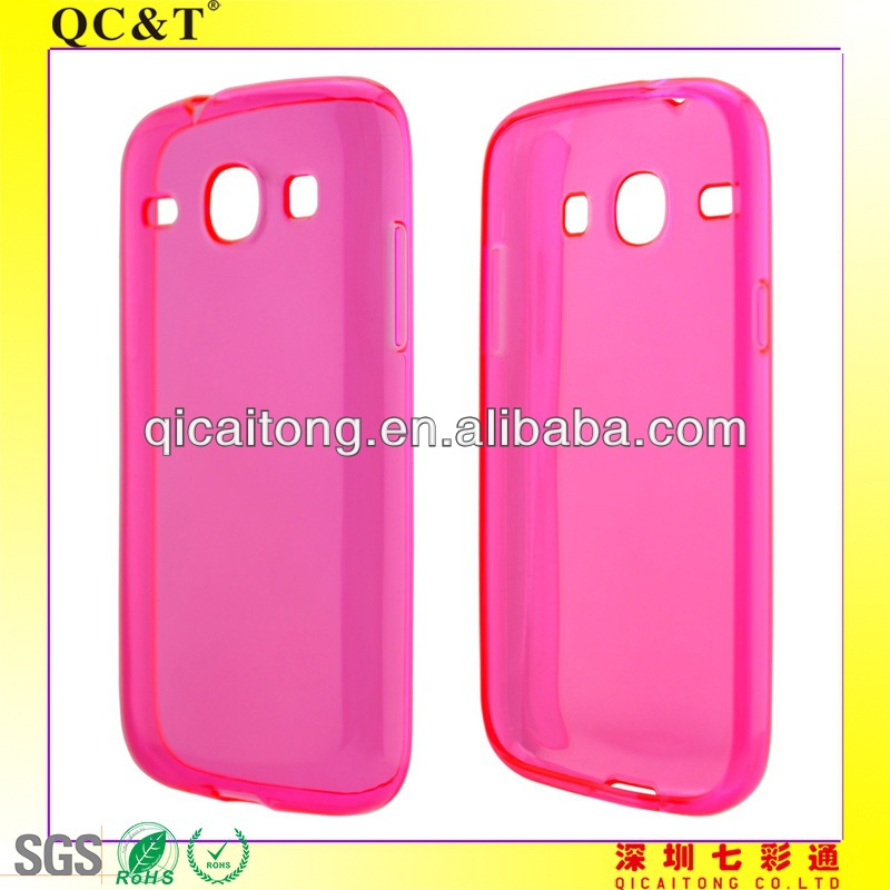 QC&T Luxury tpu case for SAM I8260