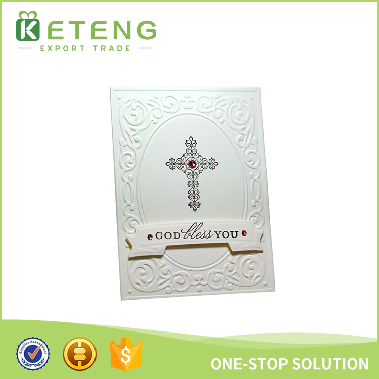 New Products 3d Printing Christian Wedding Invitation Card Designs