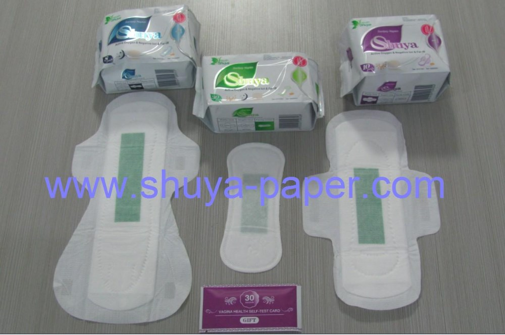 Biodegradable & Eco-friendly bamboo sanitary pads for feminine use