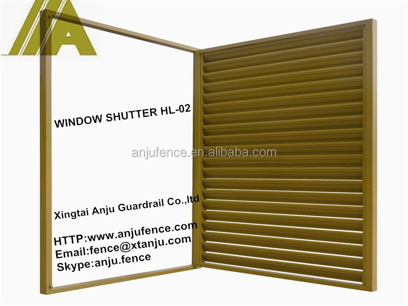 Fashionable high quality unique window shutters