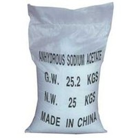 factory sales food grade sodium acetate anhydrous