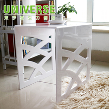 UNIVERSE Customized Bedroom Furniture Acrylic White Piano Bench Or Chair