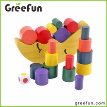 2016 Moon Designs Lovely Wooden Jenga Custom Jenga Game Wood Toy For Kids In China