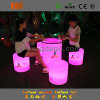 RGB led bulb lighting waterproof furniture aluninum bar table