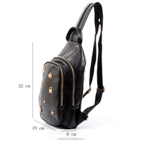 Most popular elegant designer backpack bag latest handmade women leather backpack