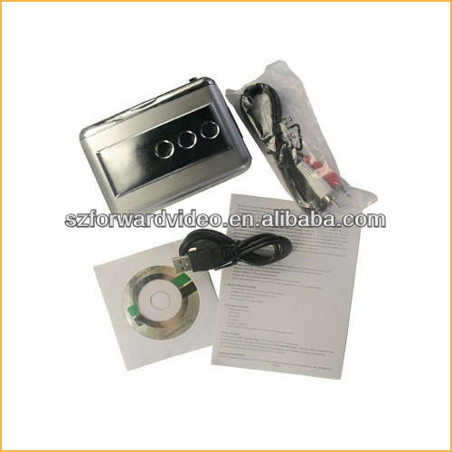 USB Cassette Player USB Audio Capture protbable walkman