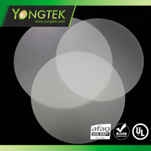 4'' round matte Diffuser plate polycarbonate sheet for led light