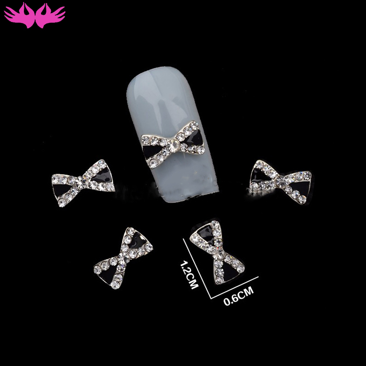 2017 Classical Design Nail Art Decoration 3D Alloy Glitter Rhinestone for Nail Art