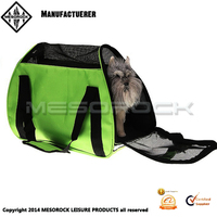 Lightweight breathable soft sided cat/dog comfort travel tote bag pet carrier