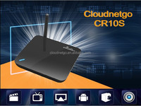 Cloudnetgo free full hd 1080p Android tv box 4.4 RK3128 Quad core TV box with bluetooth 4.0 Wifi 2MP Camera Smart Set top box