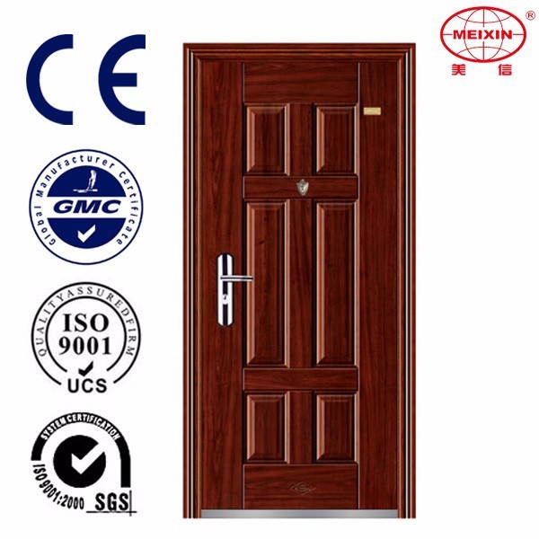 New design professional steel door with many function bullet proof turkish door design steel