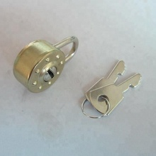 Mini Metal Padlock For Books with Clips