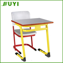 JY-S108 used classroom set desk and chair wooden chair for kindergarten