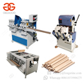 Wooden Mop Rod Rounding Shovel Hammer Handles Maker Round Stick Making Wood Broom Handle Machine With Threading Machine