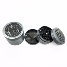 Theway Metal Zinc Alloy Grinder Tobacco Smoking Cigarette Crusher Spice Muller Pipe Accessories Herb Grinder