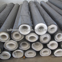 white EVA membrane construction material used in railway