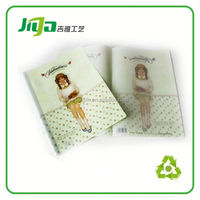 L shaped file/good quality pp plastic a4 clip holder pp file folder
