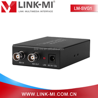 LM-SVG1 SDI to VGA Scaler Converter Box Connect With Other Nnits to Extend Your Signal Over Long Distance