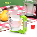 New fashion life style kitchen electronic scale disposable measuring cup weight scale