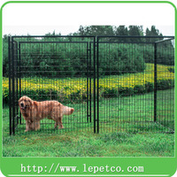 Large outdoor galvanized dog kennel wholesale chain link dog kennel panels