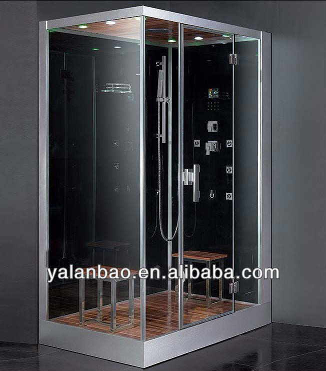 glass partition shower room ,steam sauna room