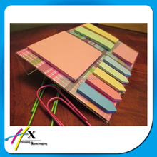 die cut sticky paper note pad