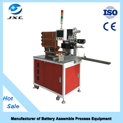 China Manufacturer auto battery label armature paper machine battery assembly equipments TWSL-350
