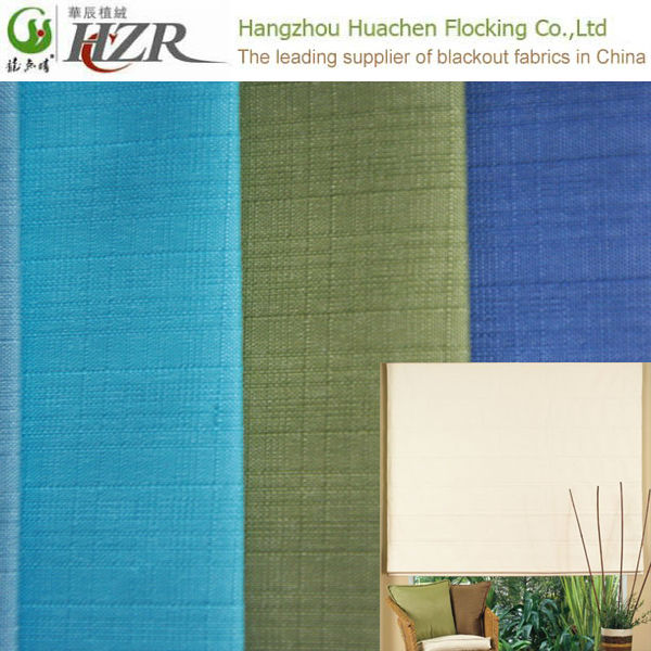 Jacquard Style and Woven Technic Blackout Curtain Fabric for hotel used drapes