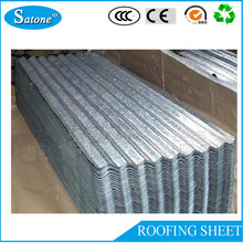 Heat Resistant lightweight galvanized metal roof material approved