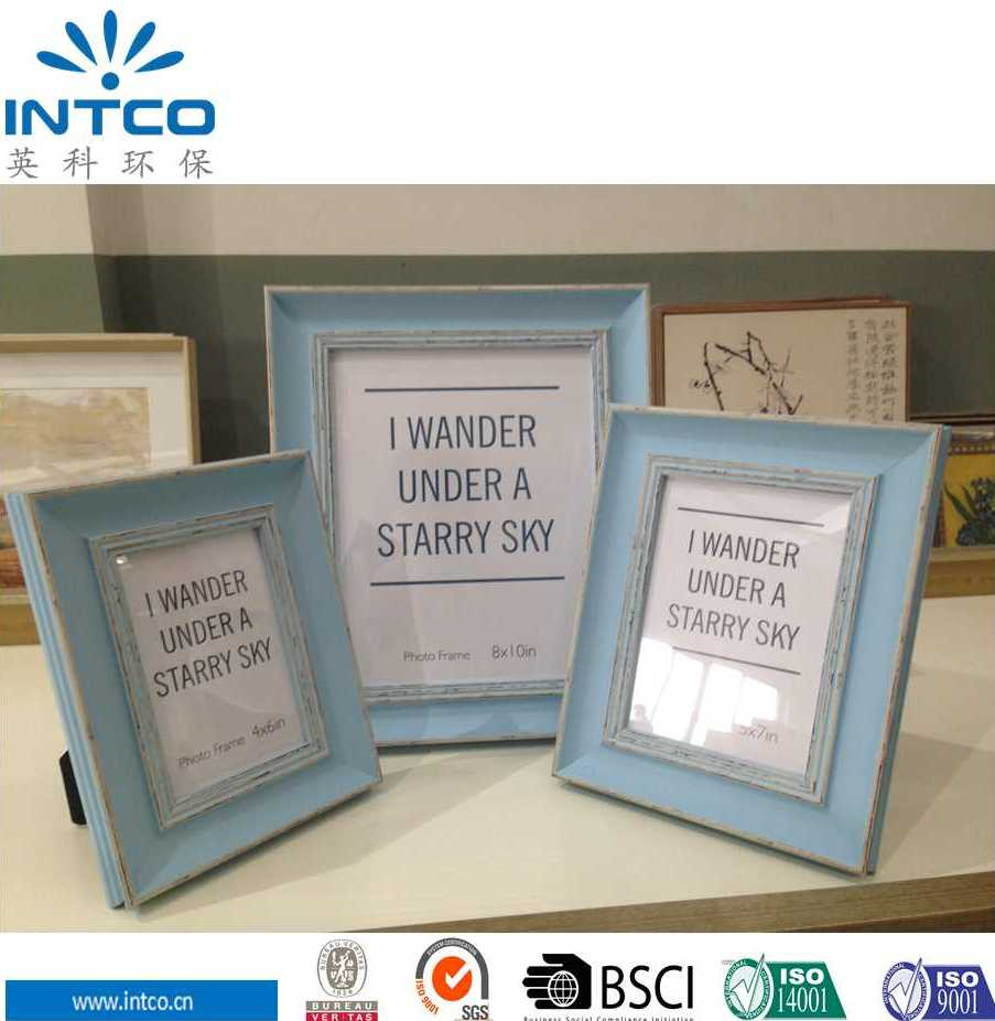 Intco classic blue china hot sexy photo frame