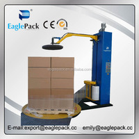Automatic stretch film packing machine, pallet wrapping machine with CE