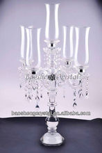 Hot! 5 Arms Hurricane Wedding Crystal Candelabra on sale (BS-CH050)