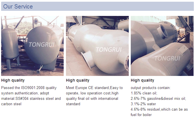 Tongrui Oil Refinery equipment, Atmospheric and Vacuum distillation unit