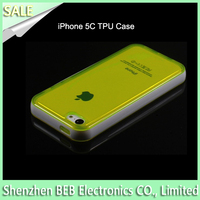 Wholesale slim cover case for iphone5c has cheap factory price