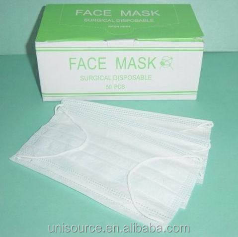 folded anti-dust face mask