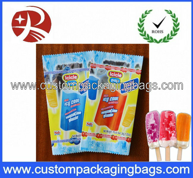 Plastic Heat seal composite ice lolly bag